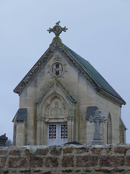 Chapel in Charchigné (Mayenne, Pays de la Loire, France).