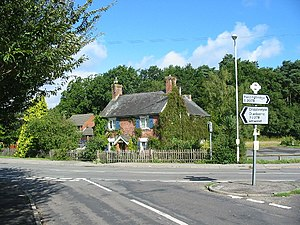 Alderholt - Image: Charing Cross Cottage. geograph.org.uk 44042