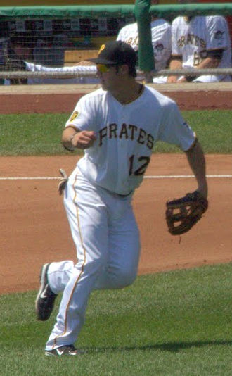 Chase d'Arnaud - d'Arnaud with the Pirates in 2011