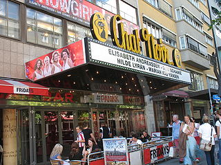 Chat Noir Cabaret and revue theatre in Oslo, Norway