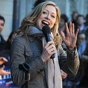 Chelsea Clinton - Clinton campaigning for her mother