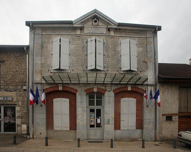 Mairie de Chenecey-Buillon (Doubs).