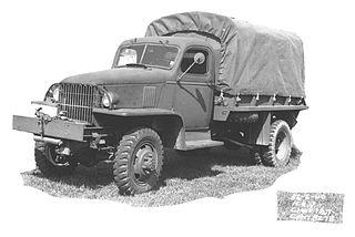 Chevrolet G506 American Army1⁄2-ton 4x4 truck