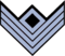 Chevrons - Infantry First Sergeant - CW