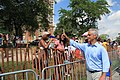 Chicago Mayor Rahm Emanuel at the Bud Billiken Parade 2015 (19807726523).jpg