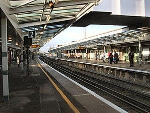 Chichester railway station - Image: Chichester Station West Sussex