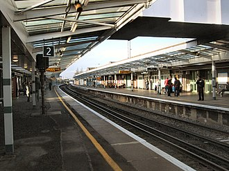 Chichester railway station - Image: Chichester Station West Sussex
