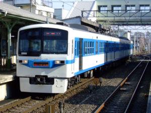 Chichibu Railway - A Chichibu Railway 6000 series train