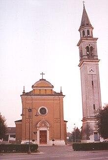 La chiesa della frazione di Marola