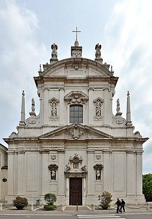 Chiesa di San Faustino a Brescia facciata