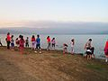 Children play beside Dojran lake.jpg