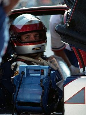 Chip Robinson - Chip Robinson in the Nissan NPT-90 car at the IMSA Del Mar Grand Prix - October 1990