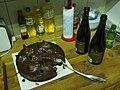 Chocolate cake and sparkling wine.jpg