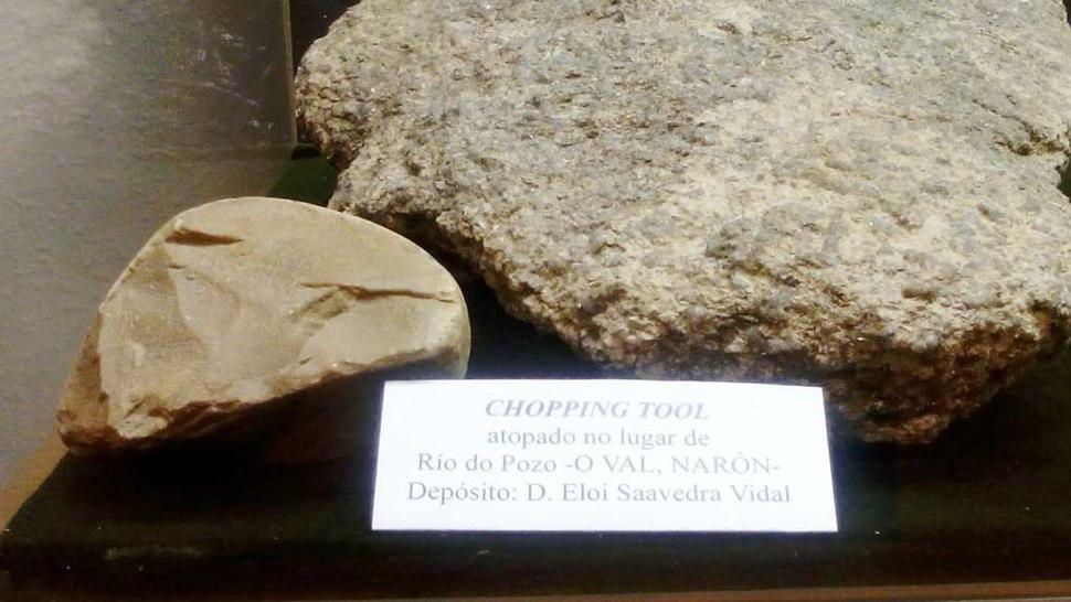 Chopping Tool Río do Pozo O Val Narón