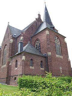 Chorseite St. Aegidius in Bornheim-Hemmerich
