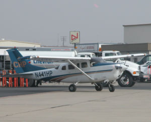 A California Highway Patrol Cessna 206 (N441HP...