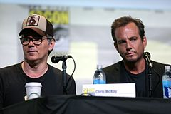 Chris McKay & Will Arnett (27991311124).jpg