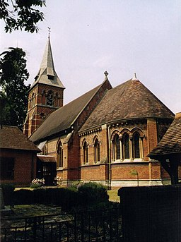 Christ Church, Ottershaw - geograph.org.uk - 1522692