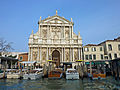 Church near the train station in Venice.jpg