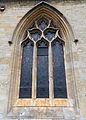 Church of St Andrew, Boothby Pagnell, Lincolnshire, England - Chancel south window.jpg