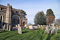 Church of St Mary Hatfield Broad Oak Essex England - churchyard looking northeast.jpg