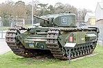 Churchill Mk I (A22) front-left 2017 Bovington.jpg
