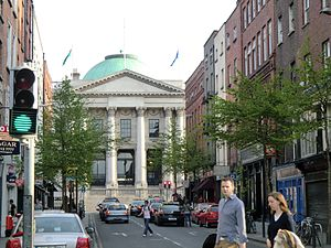 City Hall, Dublin - Dublin City Hall, as viewed from Parliament Street