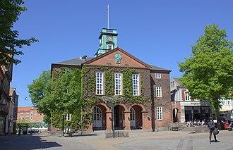 Kolding Municipality - Image: Cityhall in Kolding.Denmark.Kold ing Rådhus.2012 001