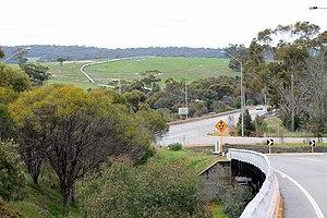 Clackline, Western Australia - Clackline Brook Bridge from the west.