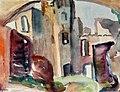 Clara Vogedes - Deutschland, Burg Rheinfels am Rhein, 1932.jpg