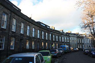 Thomas Brumby Johnston - Claremont Crescent, Edinburgh