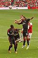 Clarence Seedorf, Marco Yepes & Thomas Vermaelen (4866982475).jpg