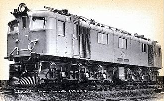 1947 in South Africa - Class 3E