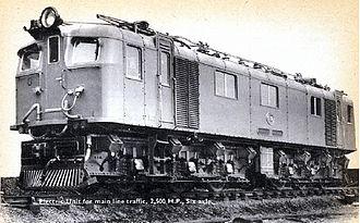 South African Class 3E - Image: Class 3E no. E192