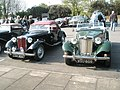 Classic cars waiting to start the 2009 Havant Mayor's Rally (5) - geograph.org.uk - 1259808.jpg