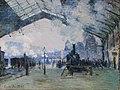 Claude Monet, Arrival of the Normandy Train, Gare Saint-Lazare, 1877 8 30 14 -artinstitutechi (31793535741).jpg