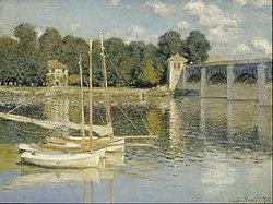 Claude Monet: Le Pont d'Argenteuil