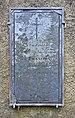 Clausen Military cemetery – Gravestone CW Bruno von François.jpg