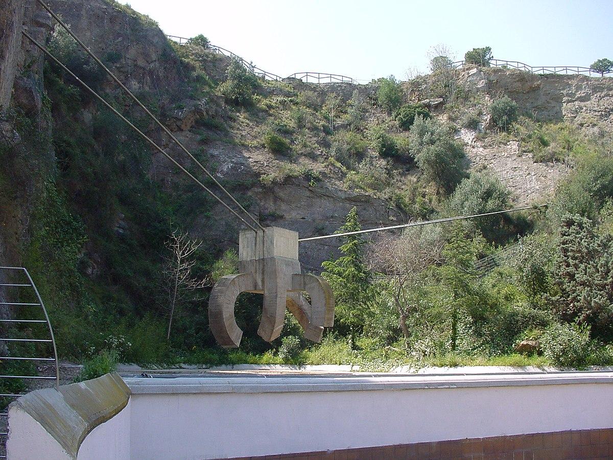 Parc de la creueta del coll wikipedia for Piscina creueta del coll