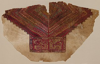 Tapestry-woven Yoke from a Tunic (1925.667)