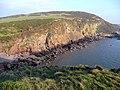 Cliffs east of Castlehill Point - geograph.org.uk - 1102598.jpg