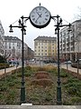 Clock. - Mechwart Sq. Budapest District II.JPG