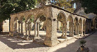 Cordeliers Cloister (Saint-Emilion) - The Cordeliers cloister
