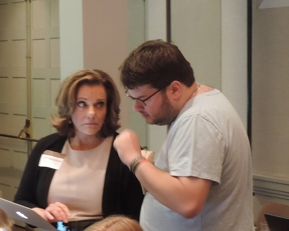 CoFR edit-a-thon 2016-03 KT McFarland and Jeremy B jeh
