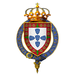 Coat of Arms of Afonso V, King of Portugal, KG.png