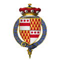 Coat of arms of Sir Walter Devereux, 9th Baron Ferrers of Chartley, KG.png