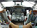 "Cockpit of NOAA Lockheed WP-3D Orion ""Hurricane Hunter"" (N42RF).jpg"