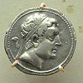 Coin - Silver - Circa 230-200 BCE - Euthydemos Reign - ACCN IM 2 - Indian Museum - Kolkata 2014-04-04 4283.JPG