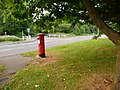 Colehill, postbox No. BH21 10, Leigh Road - geograph.org.uk - 1348947.jpg