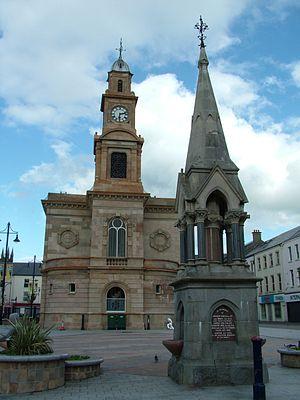 Coleraine - Image: Coleraine Stadtmitte